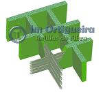 Fabricación Rejilla Tramex Prfv 150x135