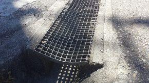 Tramex de acero galvanizado hundido
