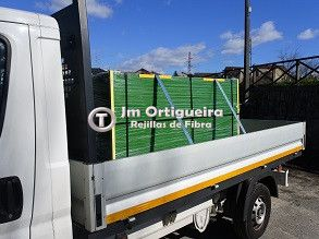 Transporte rejillas plástico Jm Ortigueira